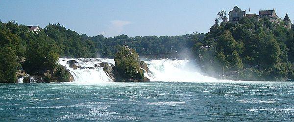 Rivers Rhine Thur Sitter Tïss Glatt Birs Facts Nature - Swiss river to the rhine